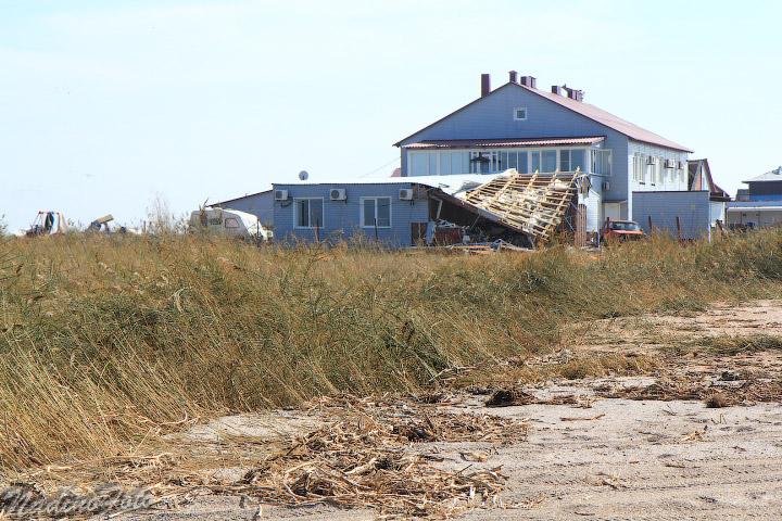 27 сентября - прогулки по косе после урагана